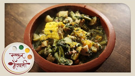 Rushichi Bhaji Gauri Ganpati Recipe by Archana -Maharashtrian Vegetable in Marathi