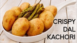 Suji Kachori - Crispy Rajasthani Moong Dal Khasta Kachauri