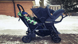 Joovy Caboose Graphite Double Stroller Review