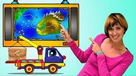 Helpy the Truck - Car Cartoon and Baby Cartoon- Car Games with Truck Transformer-Treasure Island