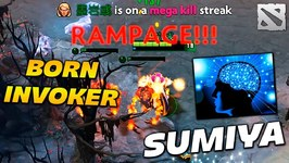 SumiYa Invoker Born RAMPAGE Highlights Dota 2