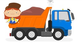 Doctor McWheelie And Garbage Truck- Dump Truck and Concrete Truck