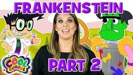 Frankenstein - Part 2 - Story Time with Ms. Booksy - Cartoons for Kids