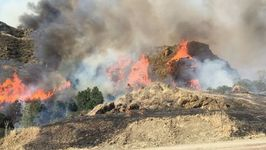 California's Garza Fire Becomes State's Largest Active Wildfire