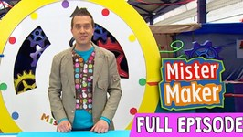 Giant Powder Paint Picture - Episode 2 - Full Episode - Mister Maker Comes To Town