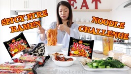 Spicy Fire Noodle Challenge - Samyang Buldak Mukbang And 2016 Year In Review