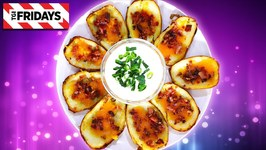 TGI Fridays Loaded Potato Skins / Homemade Recipe