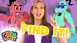 Find The Genie - Aladdin - Story Time with Ms. Booksy - Find It Games - Fairytale