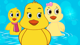 Five Little Ducks-Children's Popular Nursery Rhymes