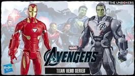 Avengers Titan Hero Series Iron Man & Hulk Action Figures