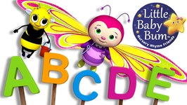 ABC Song Butterfly - Little Baby Bum - Nursery Rhymes for Babies - Songs for Kids