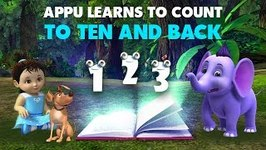 Appu Learns To Count To Ten And Back (4K)