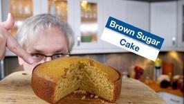Brown Sugar Buttermilk Cake - AwesomeSauce