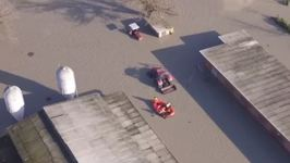 Drone Footage Shows Severe Flooding in North Italian Town