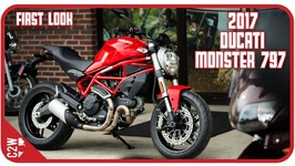 2017 Ducati Monster 797 - First Look
