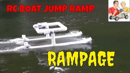 Meet Rampage, the RC Boat Ramp
