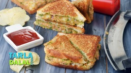 Potato Sandwich - Aloo Sandwich On A Tava - Indian Snack