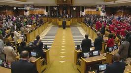 South African Parliament Erupts in Song and Chants Ahead of No Confidence Vote