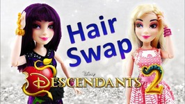 Disney Descendants 2 Movie Isle Style Switch Mal Doll Review