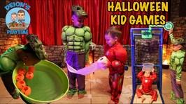 HALLOWEEN GAMES for KIDS with DEION'S PLAYTIME - GELLI BAFF