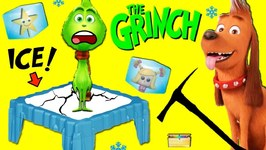 THE GRINCH DON'T BREAK THE ICE GAME Cindy Lou vs Max WIN SURPRISE TOYS