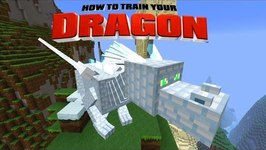 Minecraft - HOW TO TRAIN YOUR DRAGON - Ender Dragon! 44