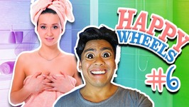 SO MANY NAKED GIRL GLITCHES - Happy Wheels No. 6