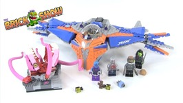 LEGO Marvel Guardians Of The Galaxy Vol. 2 The Milano Vs. The Abilisk REVIEW Set 76081