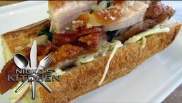 Pork And Apple Bread Rolls