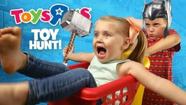 Toys R Us Hunt For Thor Ragnarok Movie Toys Justice League And Hulk