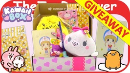 Kawaii Box November 2017 Cute Japanese Giveaway Open Gleam Unboxing Toy Review