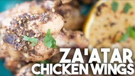 Zaatar Chicken Wings - Quick And Easy Recipe