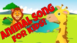 Animals in Action - Best Brain Break and Body Movement Song for Kids