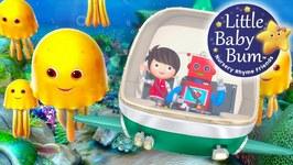 Ten Little Animals - From The Sea - Nursery Rhymes