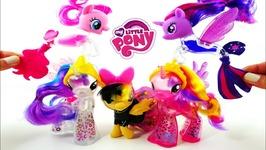New MLP The Movie Pony And Seapony Toys Princess Celestia Princess Cadance Songbird Serenade