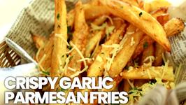 Crispy Garlic-Parmesan Fries