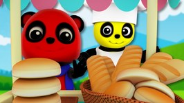 Hot Cross Buns - Baby Bao Panda - Nursery Rhymes For Children
