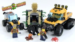 Lego City Halftrack Jungle Mission Review Set 60159