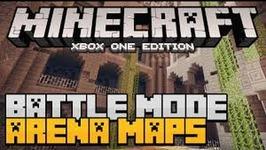 MINECRAFT: BATTLE MODE GAMEPLAY - ALL 3 MAPS