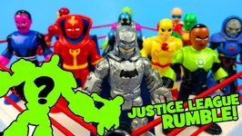 Justice League Toys Shake Rumble Game With Diy Batman Figure