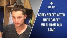 Corey Seager After Third Career Multi-Home Run Game
