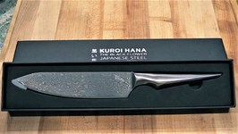 Kuroi Hana Chef's Knife Unboxing And Review - Edge of Belgravia