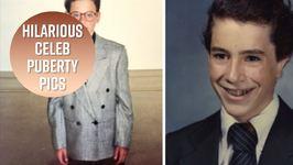 You Won't Believe These Celeb Puberme Flashbacks