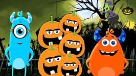 Five Little Pumpkins - Momo Beats - Halloween Songs For Children - Kids Cartoon Videos