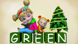 Color Green  Colors and Shapes  Children Learning Songs and Original Songs for Kids