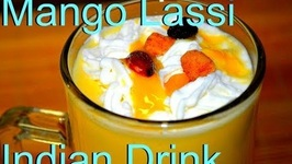 Mango Lassi Indian Flavored Yogurt Drink