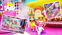 Birthday Party With Party PopTeenies Poptastic Party And Party Surprise Box Playset