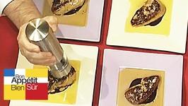 Foie gras au chocolat acidulé à l'orange