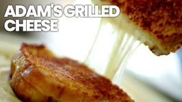 Adam's No Orange Cheese Grilled Cheese