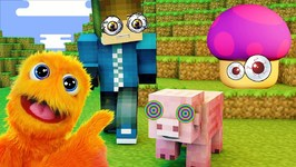 Let's Play Video Games with Fuzzy Puppet - Kid Gaming - Super Mario Run and More!